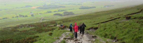 Yorkshire Three Peaks Challenge, June 2012