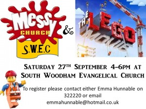 messy church september promo